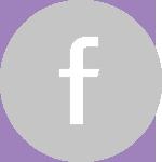 Icon facebook grey